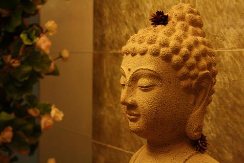 Gautam budhha- a sign of peace! di Abizek