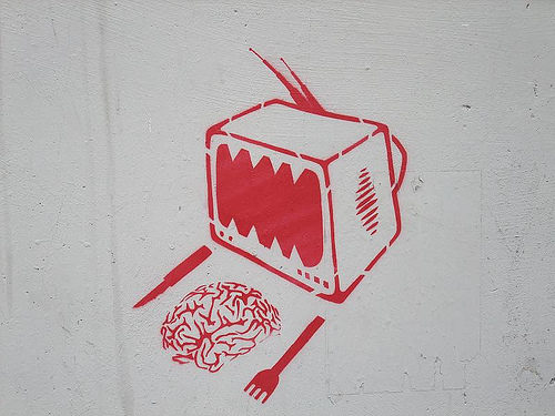 tv and your brain: Turin street art di Mermaid