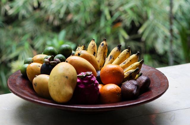 Fruit platter di Matthew Kenwrick