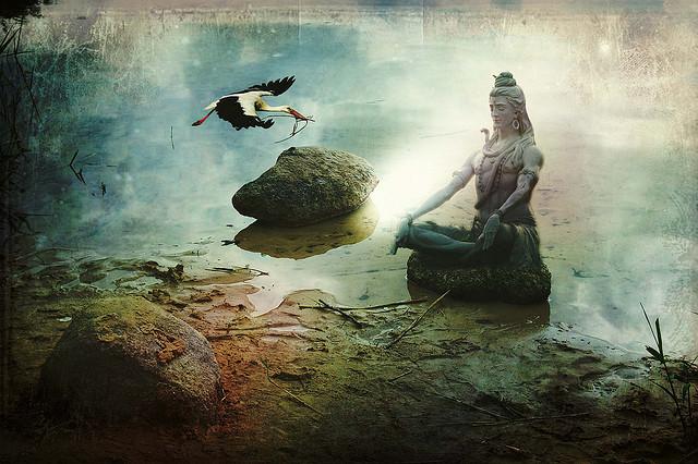 Shiva Meditation di Angela Marle Herlette